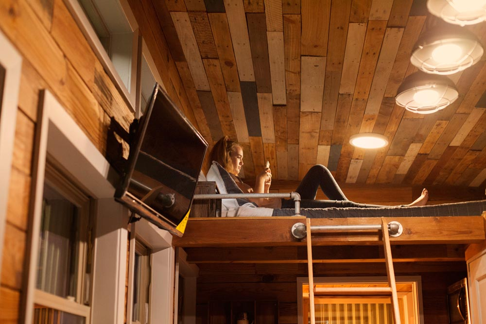 Bedroom Loft - Barton Ranch by Sasquatch Custom Homes