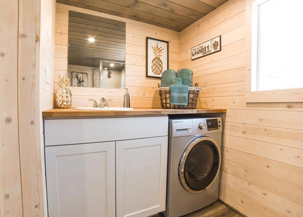 Washer/Dryer Combo - Bunkhouse by Uncharted Tiny Homes
