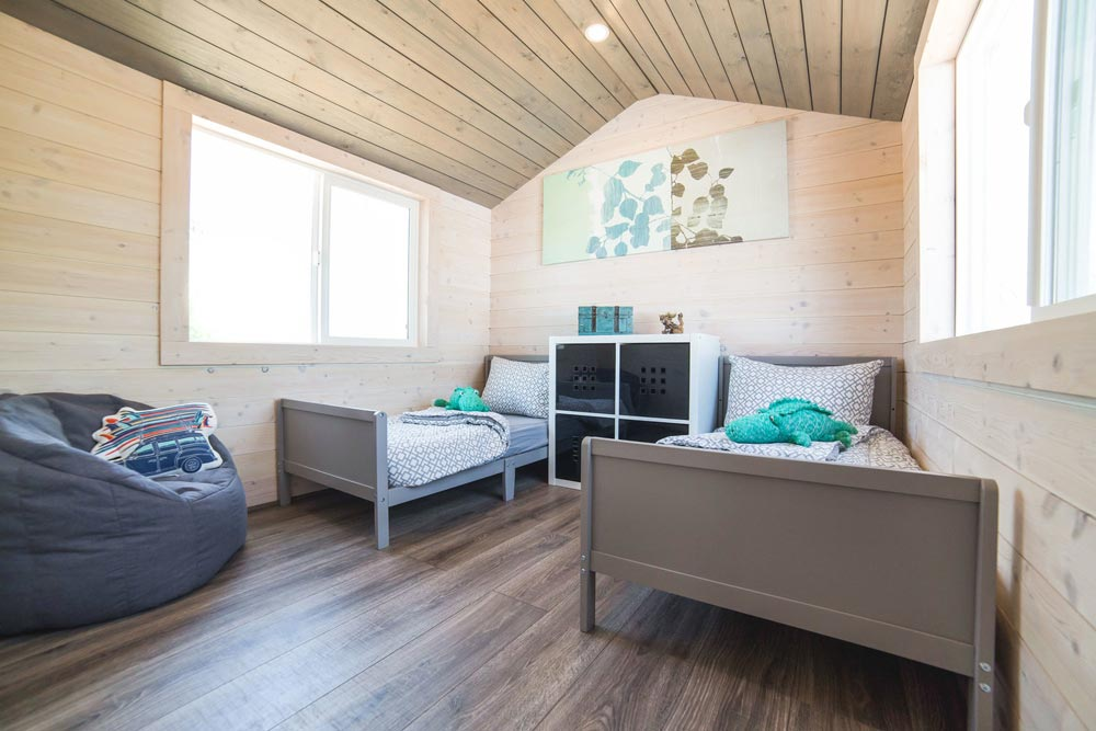 Kids Bedroom - Bunkhouse by Uncharted Tiny Homes