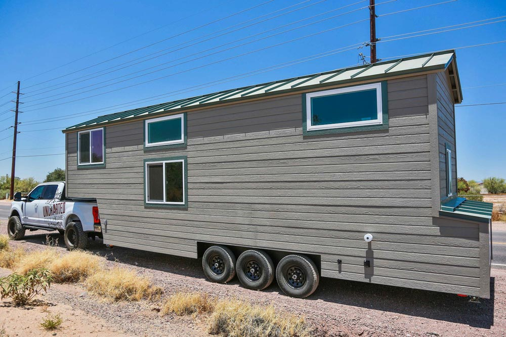 Gooseneck Tiny House - Bunkhouse by Uncharted Tiny Homes