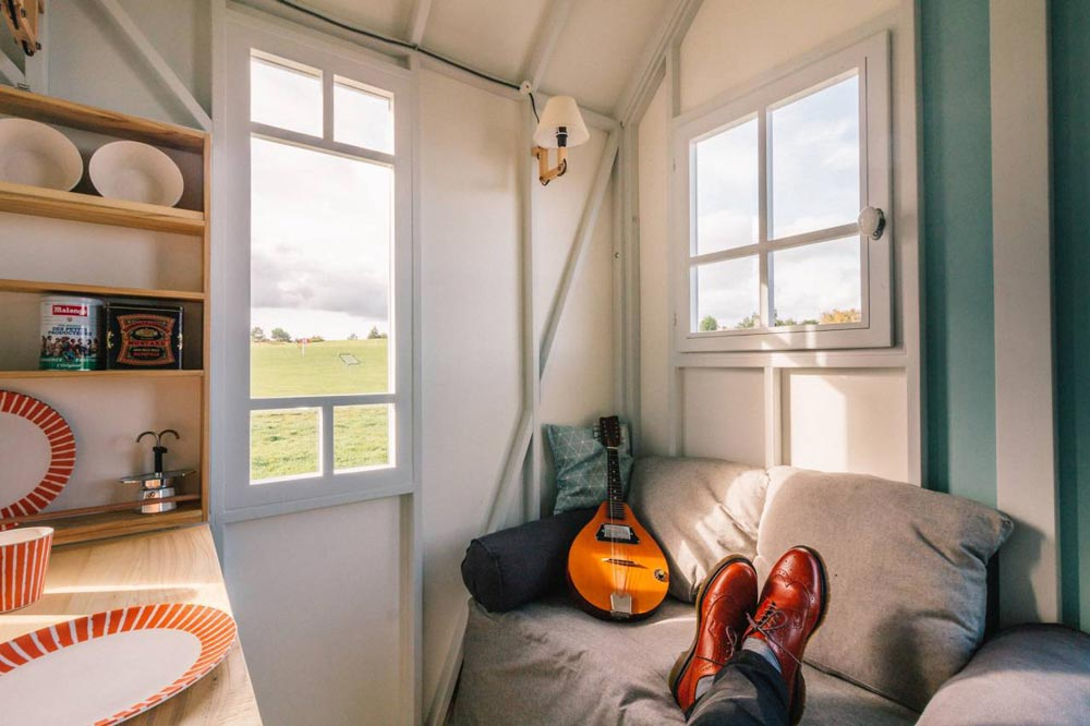 Couch - Cahute Tiny House