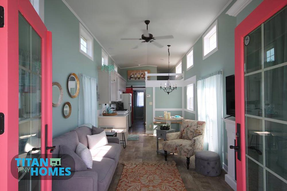 Living Room - DeeDee by Titan Tiny Homes