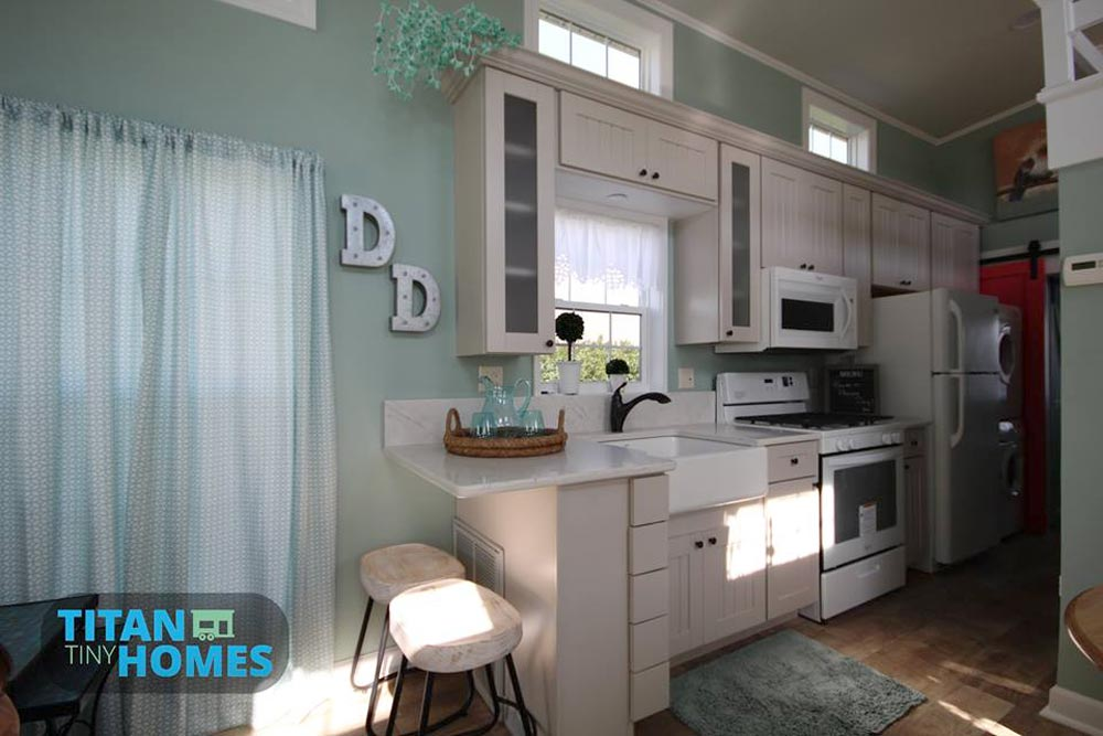 Upgraded Kitchen - DeeDee by Titan Tiny Homes