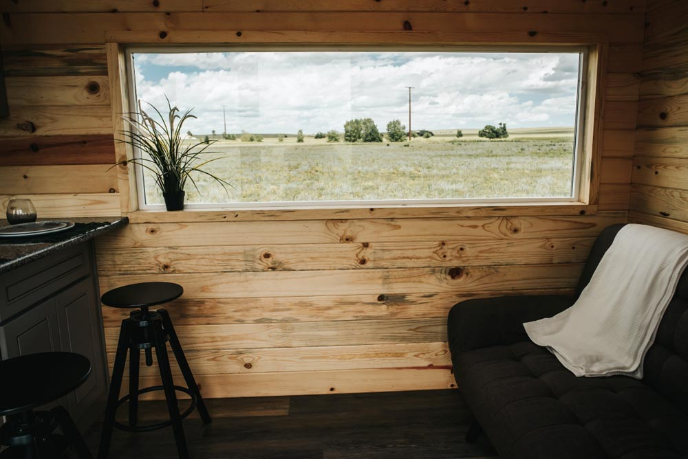 Large Windows - Four Eagle by The Tiny Home Co.