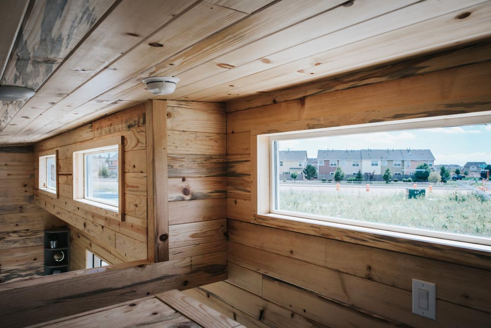Upper Windows - Four Eagle by The Tiny Home Co.
