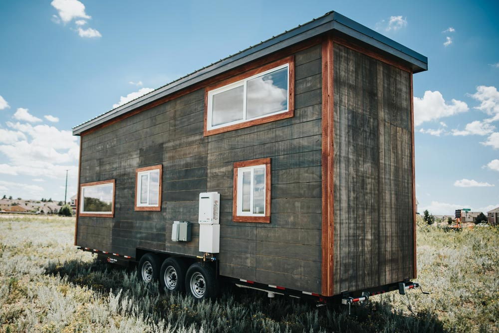 Weathered Exterior Siding - Four Eagle by The Tiny Home Co.