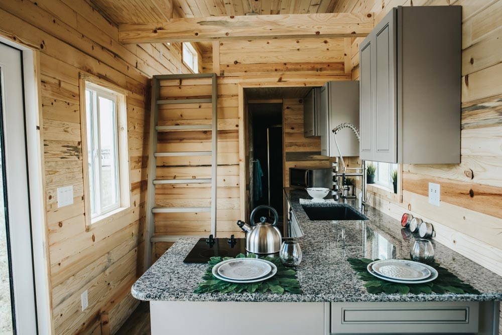 L-Shaped Kitchen Counter - Four Eagle by The Tiny Home Co.