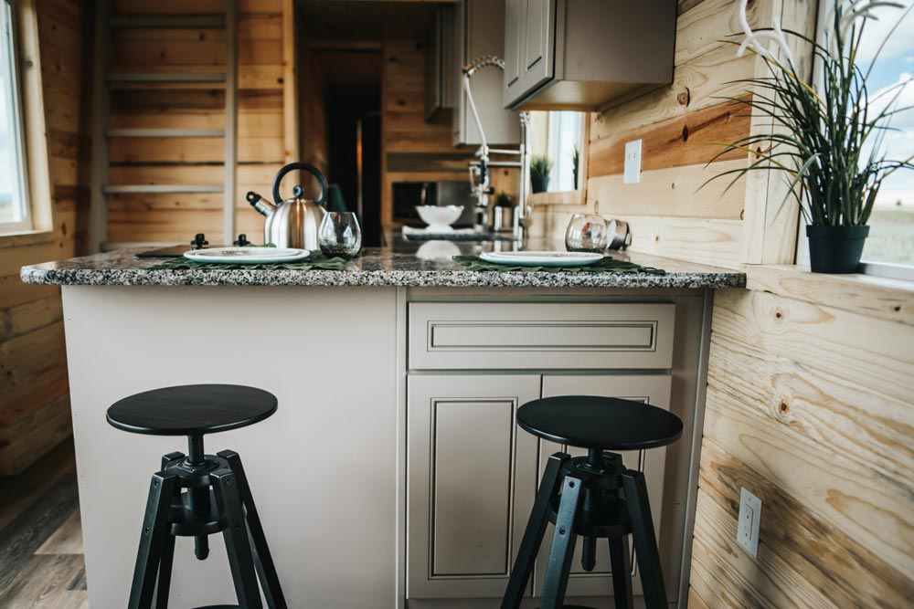 Breakfast Bar - Four Eagle by The Tiny Home Co.