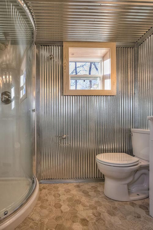 Corrugated Metal Walls - Happy Twogether by Custom Container Living
