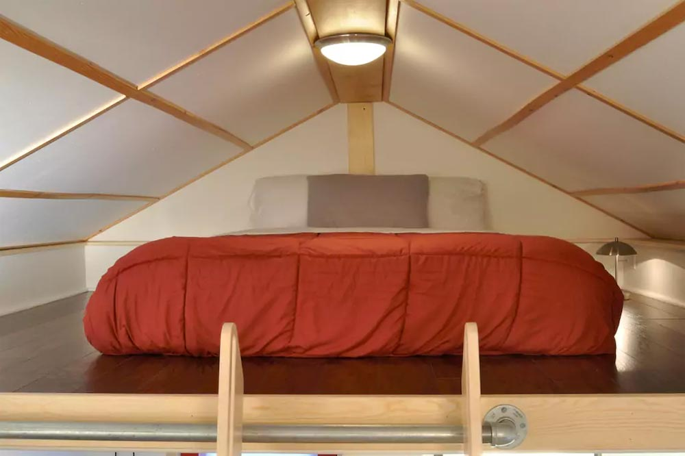 Bedroom Loft - Homer's Downtown Tiny House