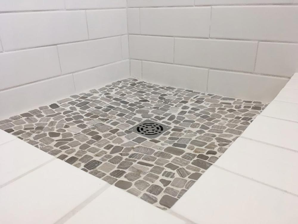 Shower Floor - Intellectual by Roostspace