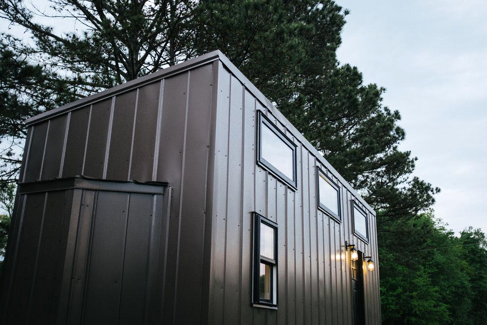 Bronze Metal Siding - Ironclad by Wind River Tiny Homes