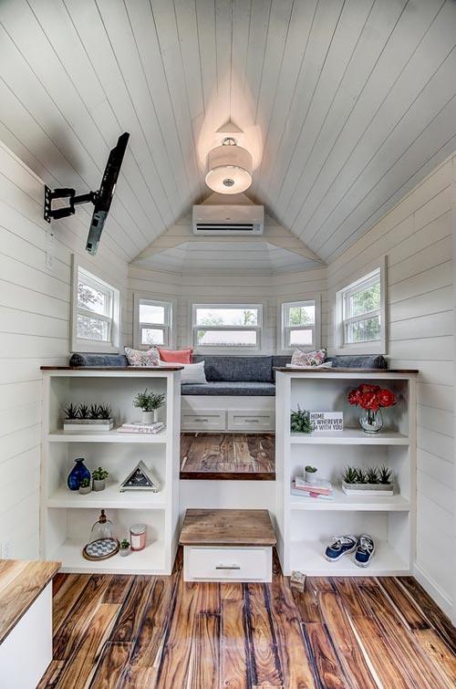 Raised Platform Living Room - Kokosing by Modern Tiny Living