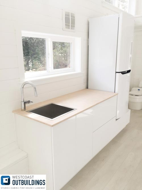 Kitchen Cabinets - Lillooet 24′ by Westcoast Outbuildings