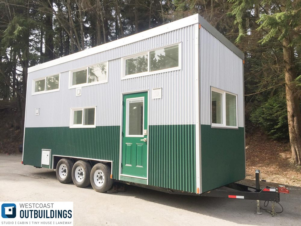 Modern Tiny House - Lillooet 24′ by Westcoast Outbuildings