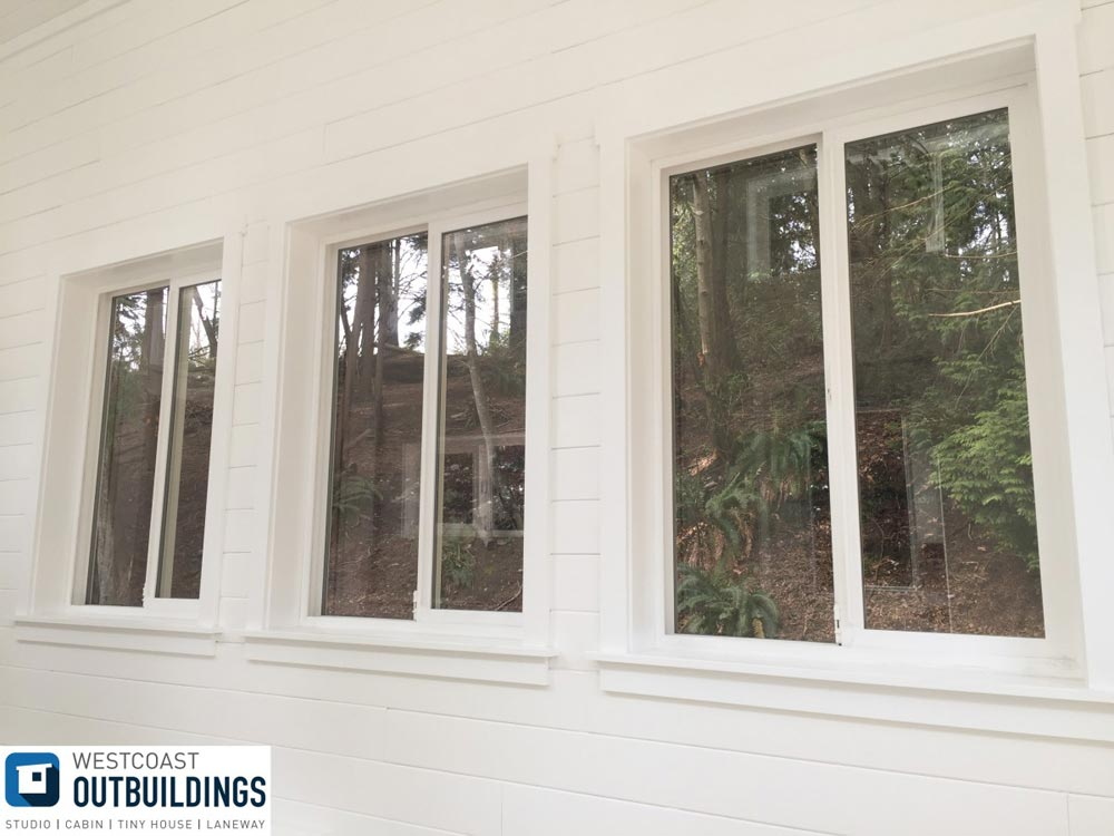 Windows - Lillooet 24′ by Westcoast Outbuildings