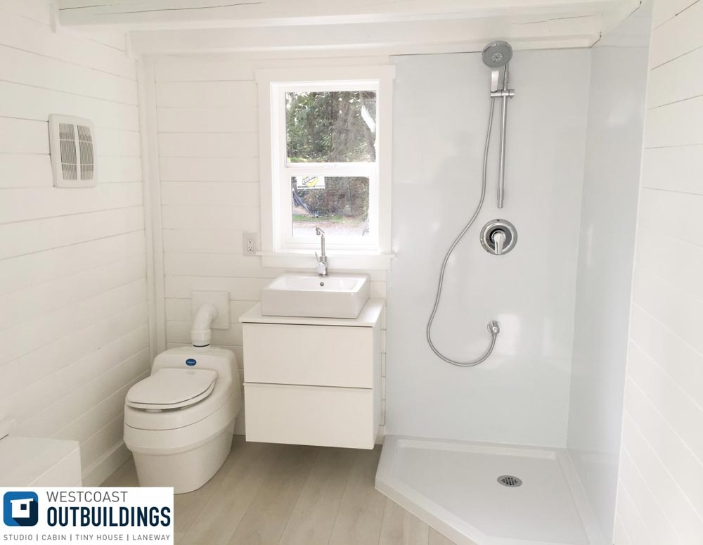 Bathroom - Lillooet 24′ by Westcoast Outbuildings