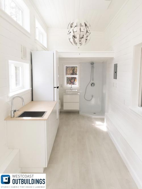 Kitchen & Bathroom - Lillooet 24′ by Westcoast Outbuildings