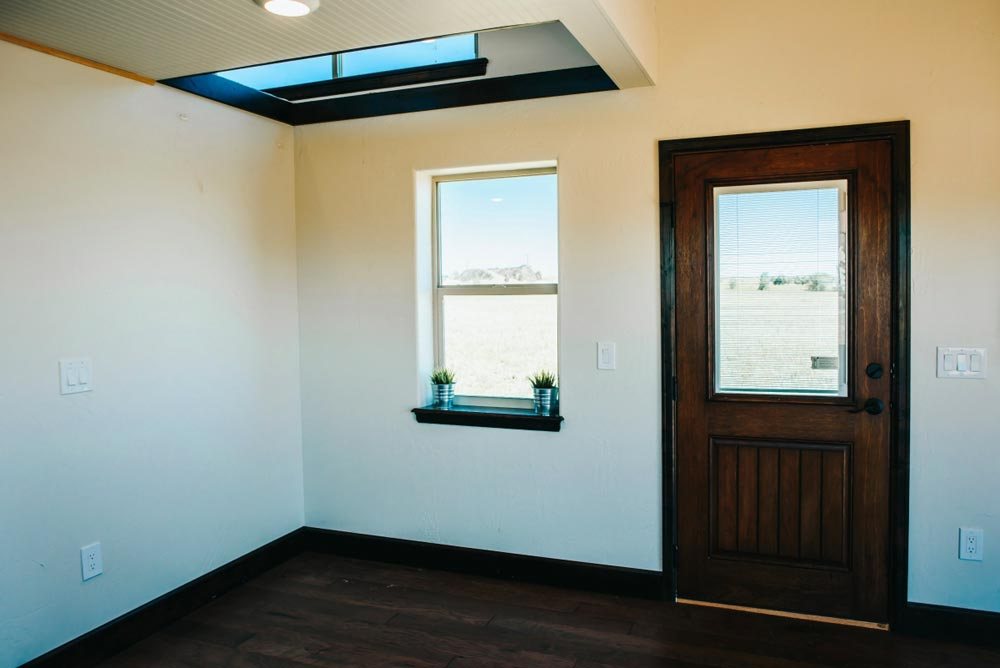 Front Door - Mount Antero by The Tiny Home Co.