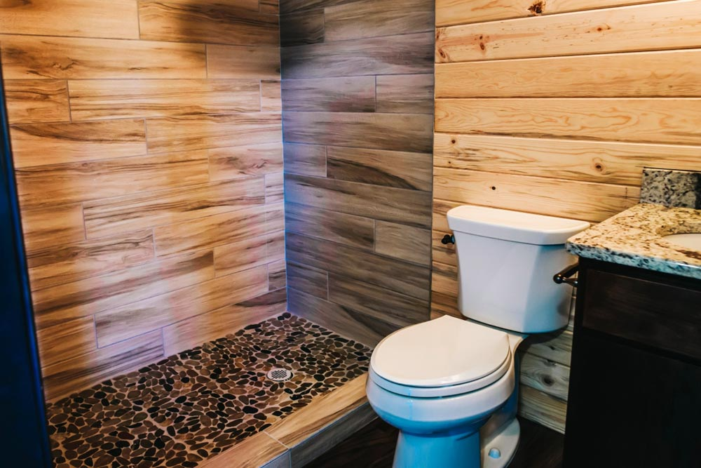 Toilet & Shower - Mount Antero by The Tiny Home Co.