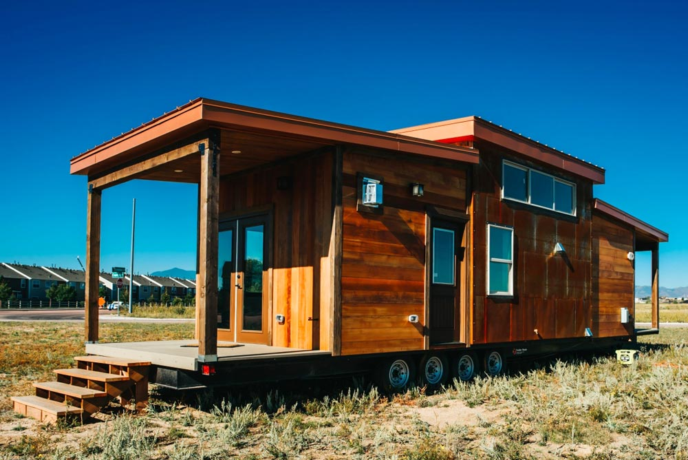 Two Covered Porches - Mount Antero by The Tiny Home Co.