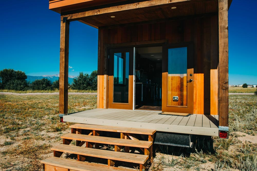 Covered Porch - Mount Antero by The Tiny Home Co.