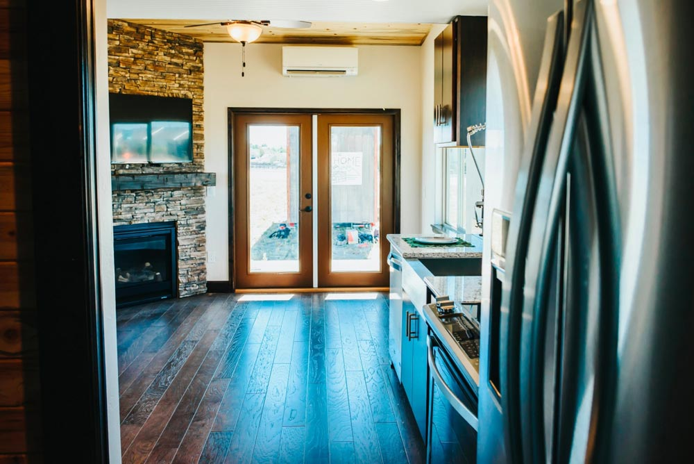 French Doors - Mount Antero by The Tiny Home Co.