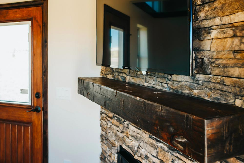 Fireplace Mantel - Mount Antero by The Tiny Home Co.
