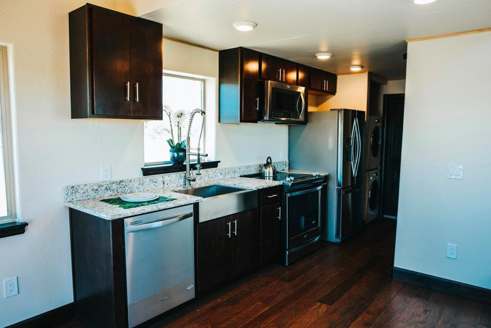 Kitchen - Mount Antero by The Tiny Home Co.