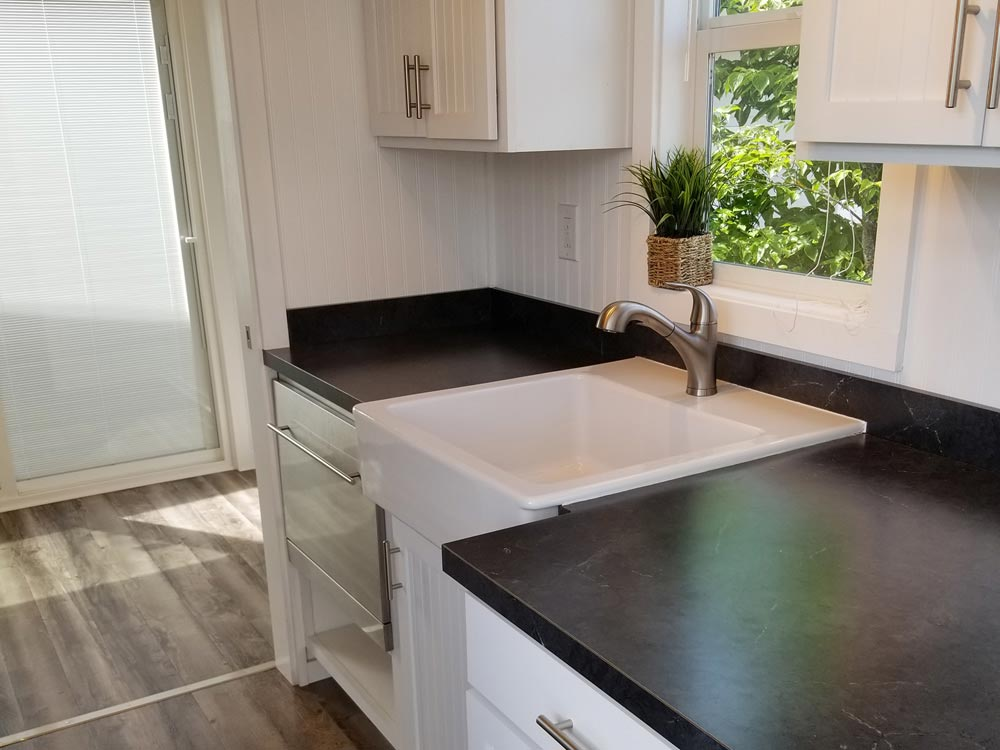 Dishwasher & Sink - Mt. Hood by Tiny Mountain Houses