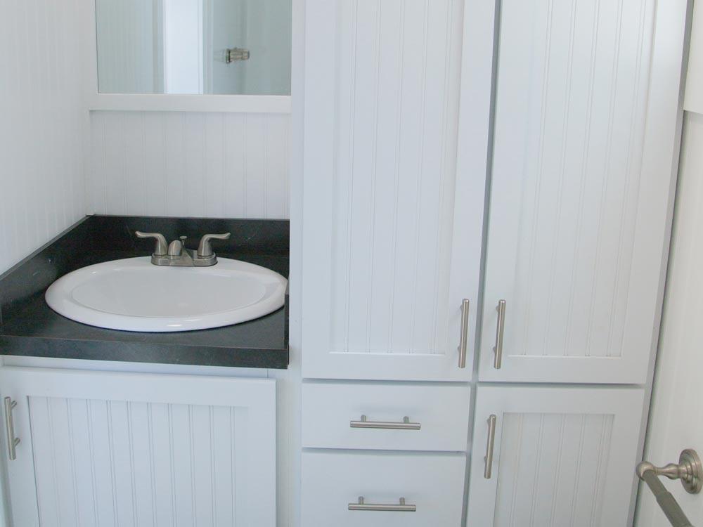 Bathroom Cabinets - Mt. Hood by Tiny Mountain Houses