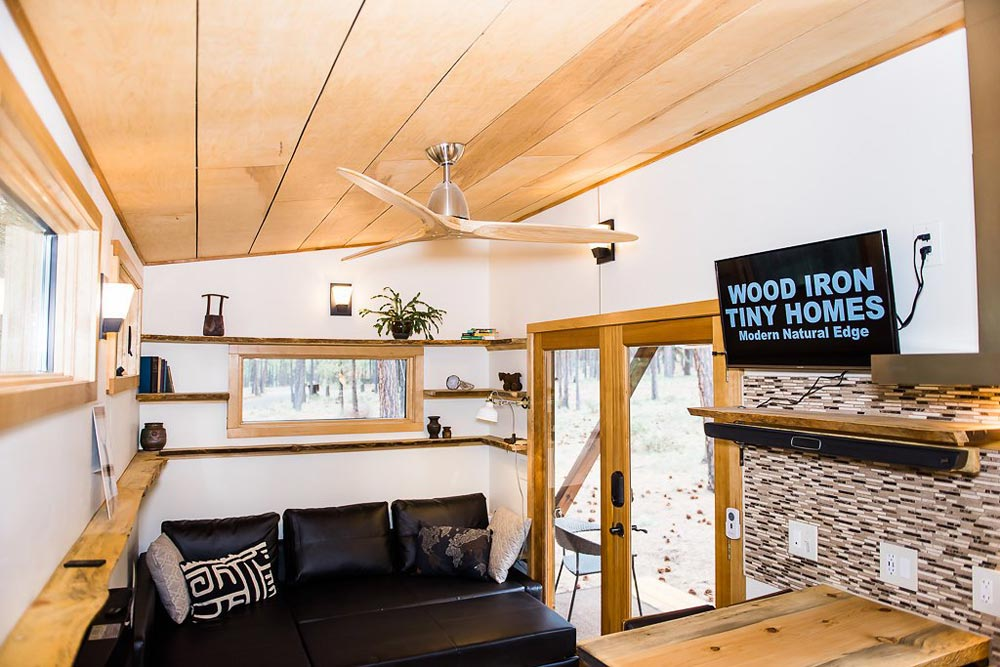 Living Room - North Sister by Wood Iron Tiny Homes