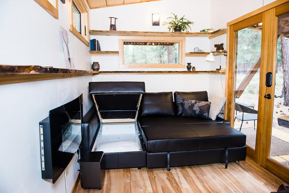 Queen Sofa Bed - North Sister by Wood Iron Tiny Homes