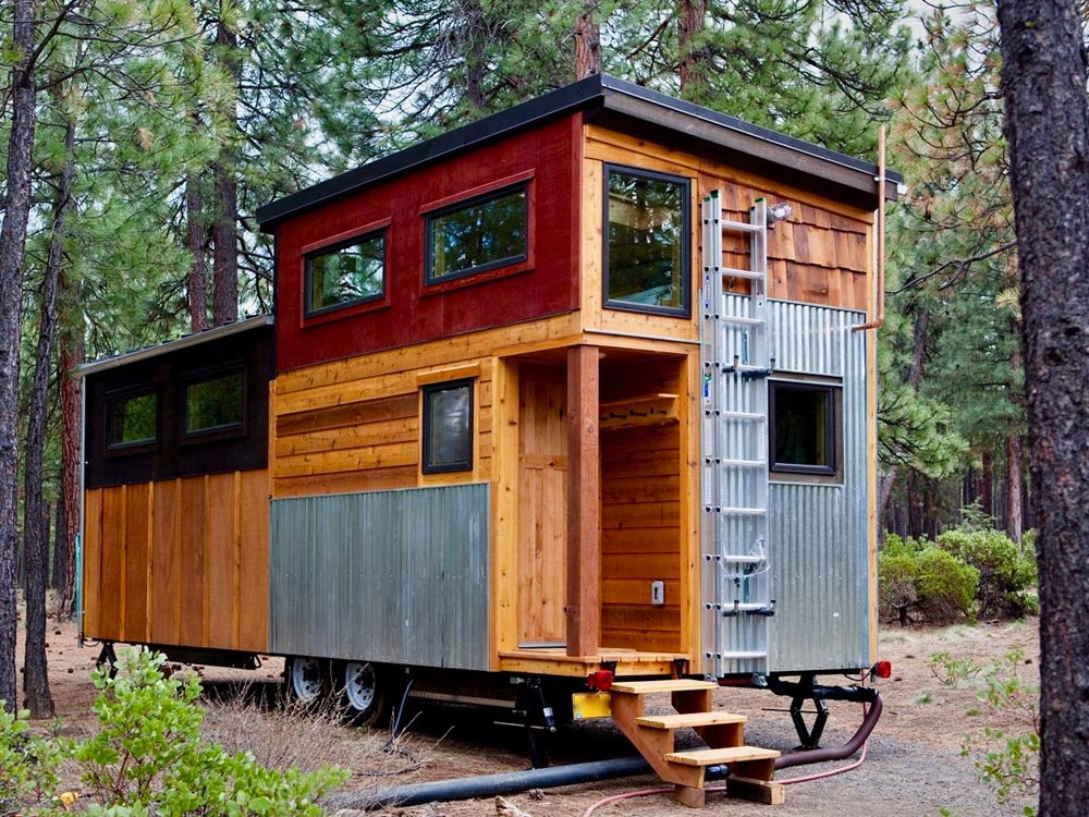 north sister by wood iron tiny homes tiny living. Black Bedroom Furniture Sets. Home Design Ideas