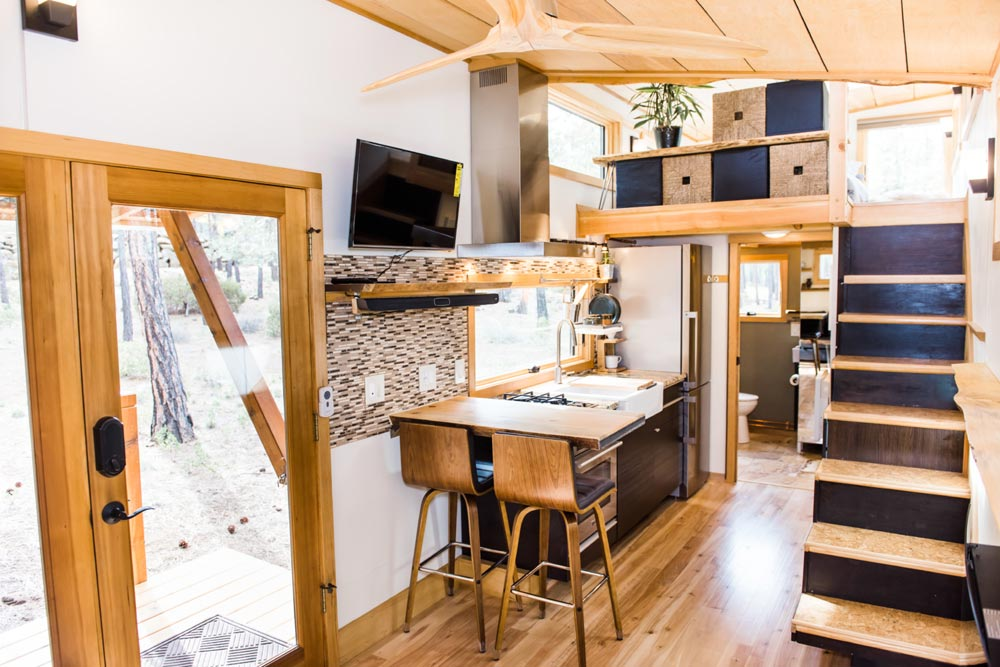 Tiny House Interior - North Sister by Wood Iron Tiny Homes