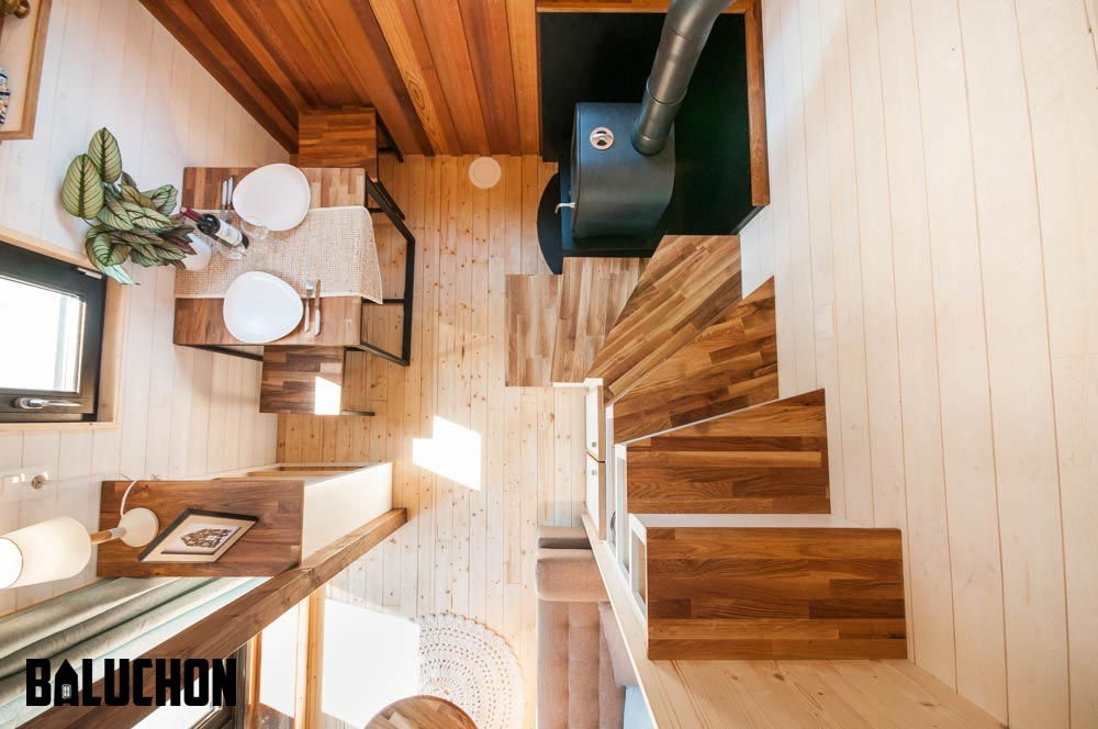Corner Stairs - Ostara by Baluchon