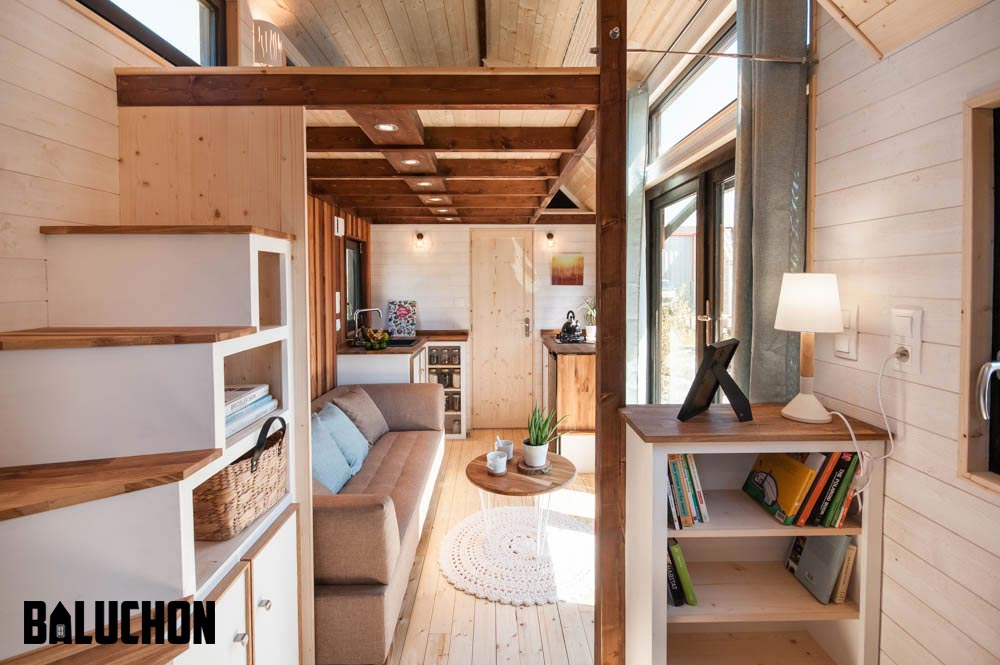 Storage Stairs & Bookcase - Ostara by Baluchon