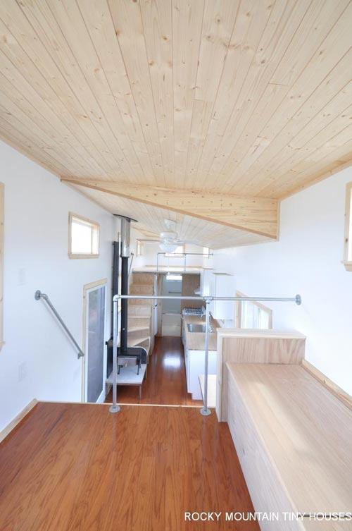 Living Room - Otsego Gooseneck by Rocky Mountain Tiny Houses