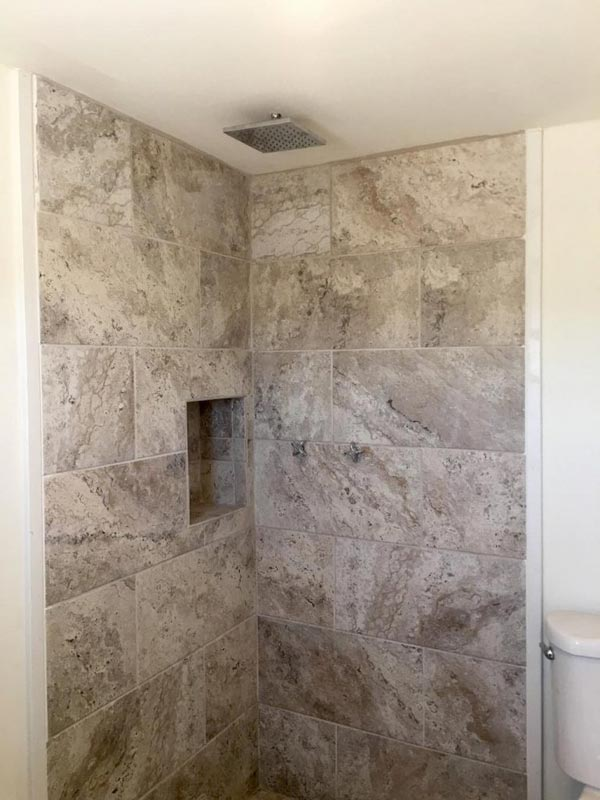 Tile Shower - Payette by Live Simply Homes