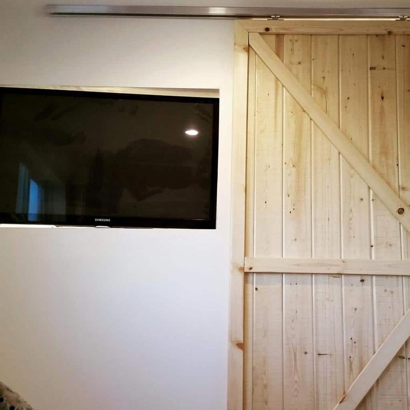 TV & Barn Door - Payette by Live Simply Homes