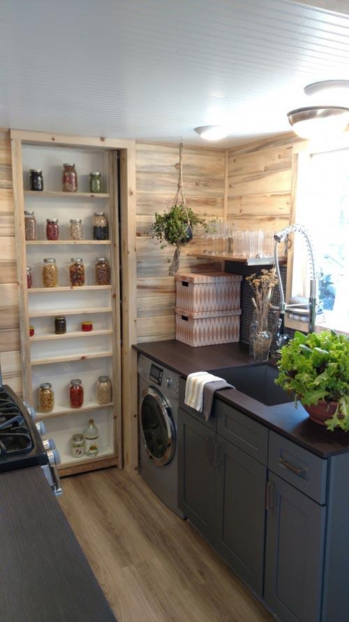Storage Pocket Door - Penny's Tiny Playhouse by The Tiny Home Co.