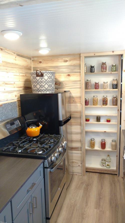 Range & Refrigerator - Penny's Tiny Playhouse by The Tiny Home Co.