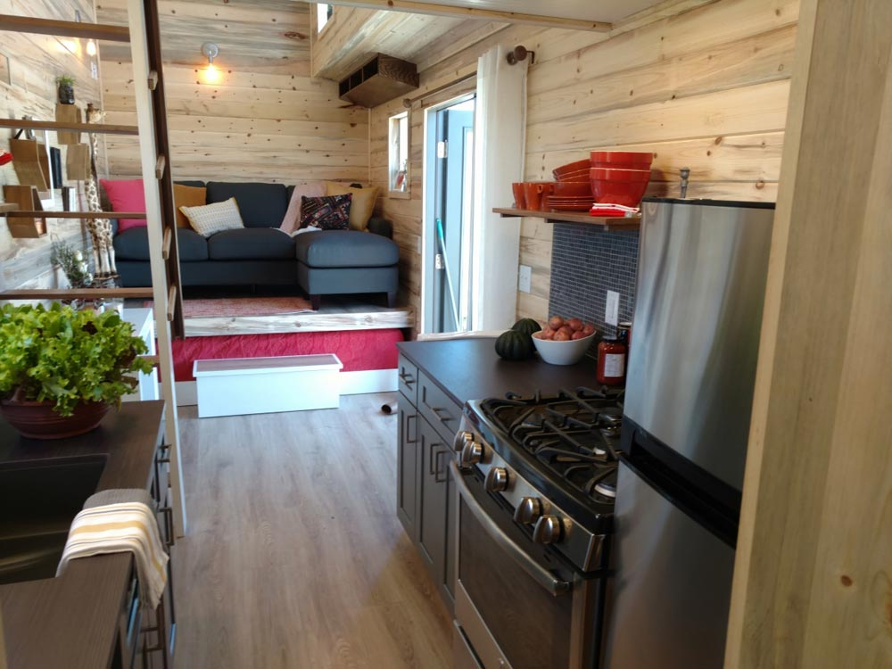 Galley Kitchen - Penny's Tiny Playhouse by The Tiny Home Co.