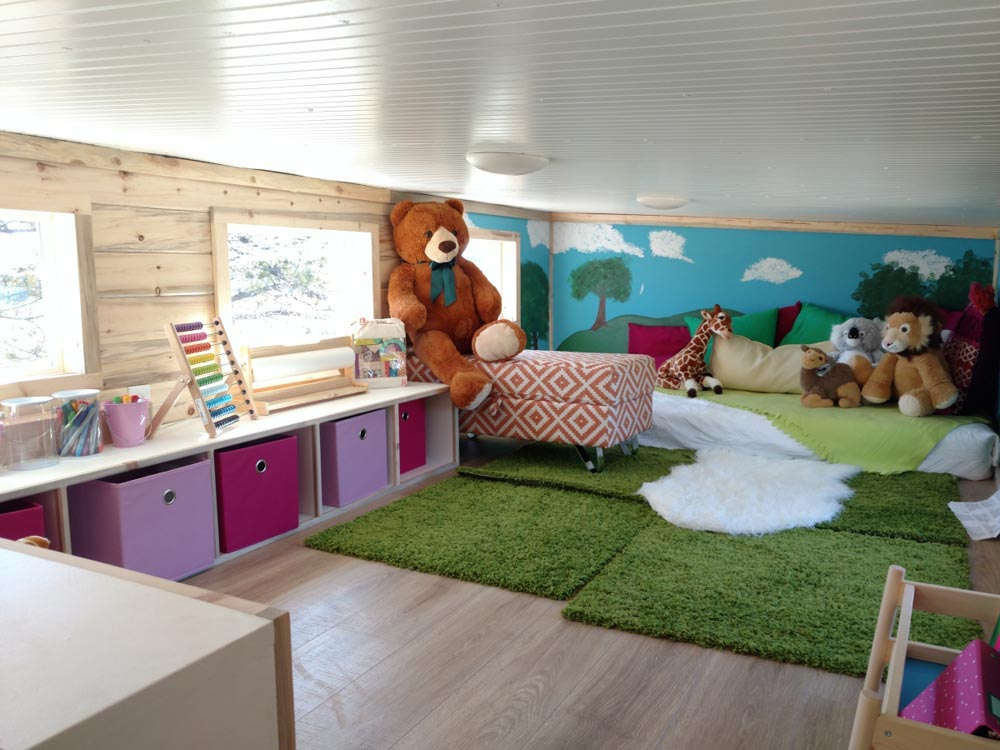 Oversized Loft - Penny's Tiny Playhouse by The Tiny Home Co.
