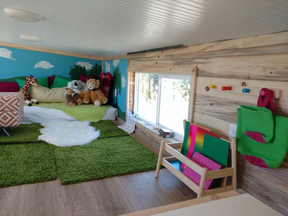 Bedroom Loft/Playroom - Penny's Tiny Playhouse by The Tiny Home Co.