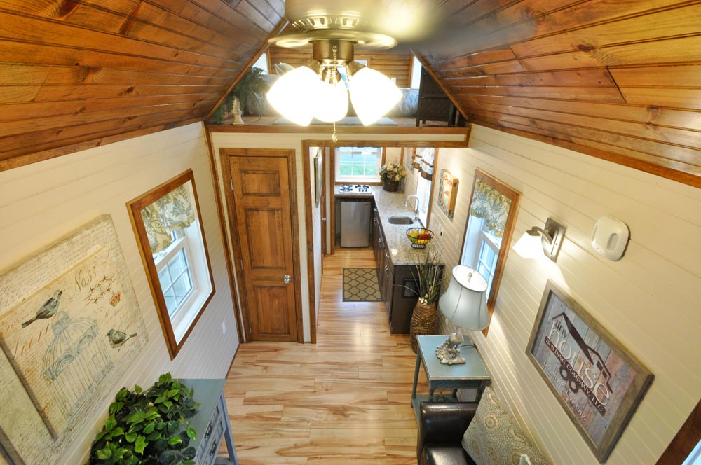 Tiny House Interior - Pioneer by Tiny House Building Company