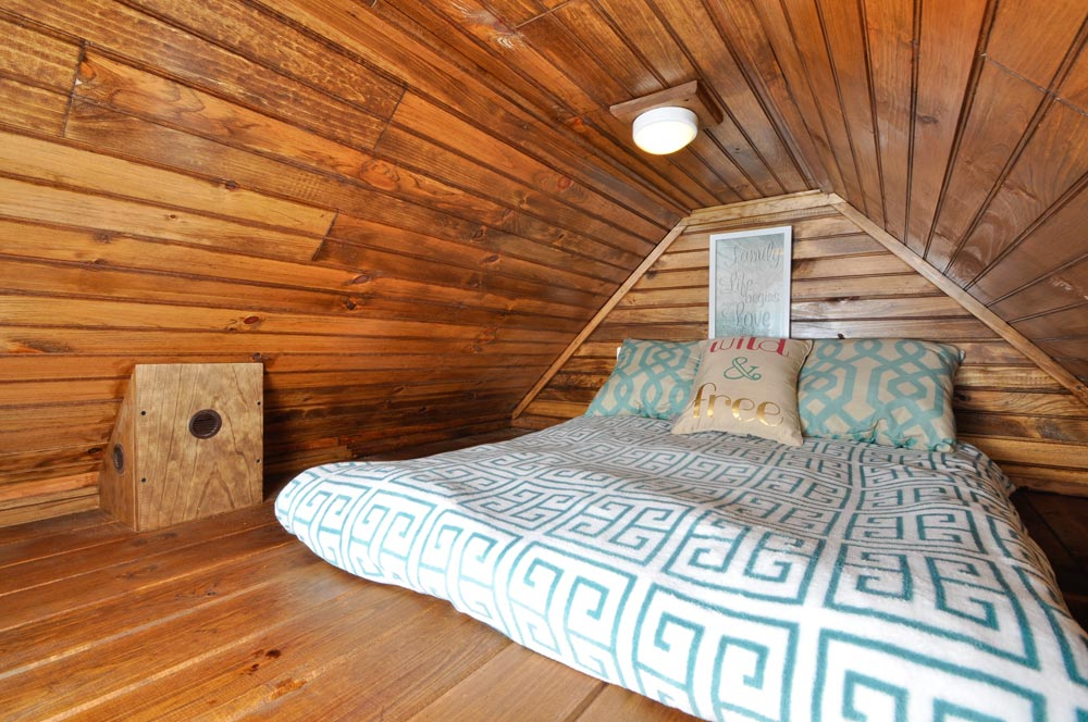 King Bedroom Loft - Pioneer by Tiny House Building Company