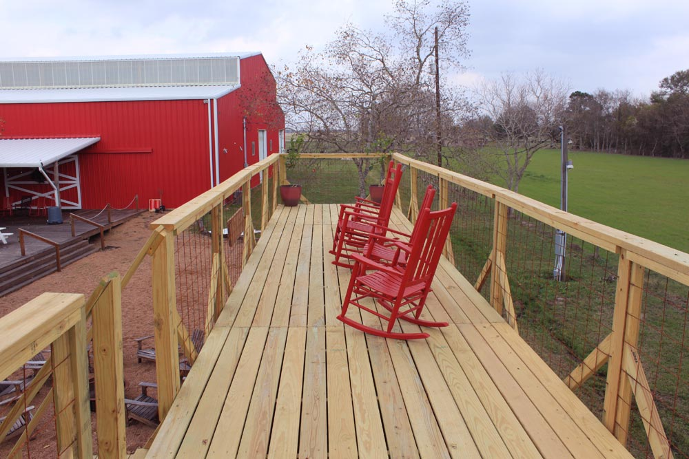 Full Roof Deck - Rustic Retreat XL by Backcountry Containers