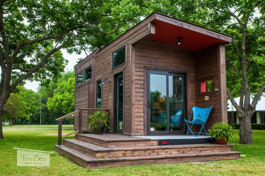 Single Loft by TexZen Tiny Home Co.