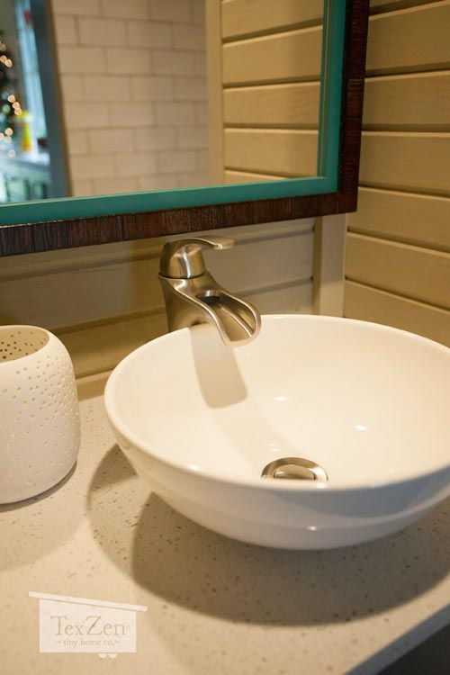 Bathroom Sink - Single Loft by TexZen Tiny Home Co.